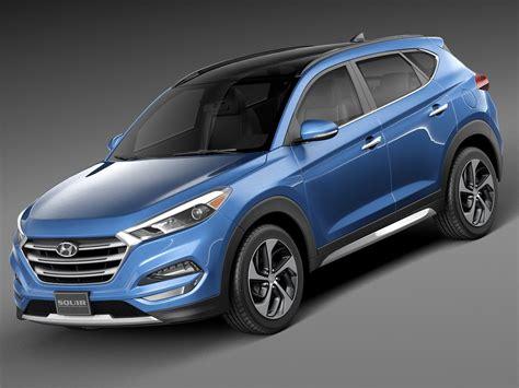 Hyundai Model 2016 hyundai tucson 3d model