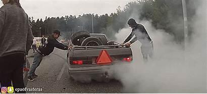 Tractors Swedish Tires Nuke Crazy Gifs Volvo