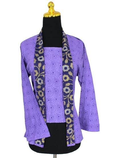 setelan kebaya motif bunga obral batik murah batikunikcom