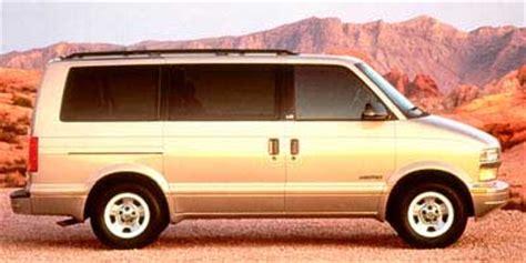 1998 Chevy Astro Mpg by 1998 Chevrolet Astro Specs Iseecars