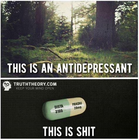 response     antidepressant   shit meme