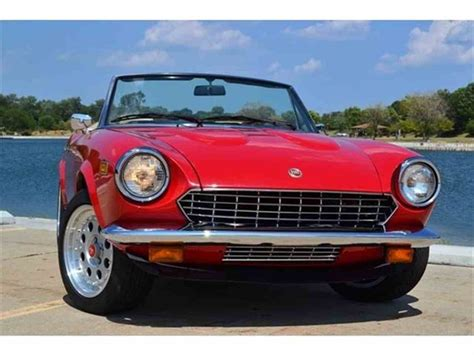 1980 Fiat Spider For Sale by 1980 Fiat 124 For Sale Classiccars Cc 515757