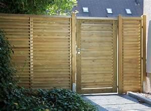 Cloture Bois Design : cl ture de jardin pas ch re originale et design ~ Melissatoandfro.com Idées de Décoration