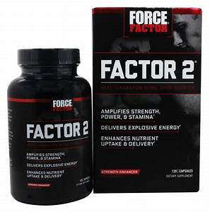 Buy Force Factor - Factor 2 Pre-workout Nitric Oxide Booster