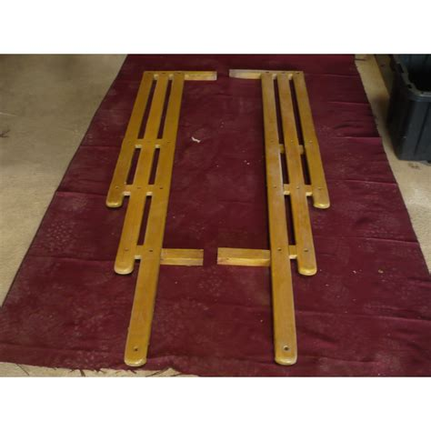 wooden truck bed 1947 55 chevy wooden bed rails set trucks body car