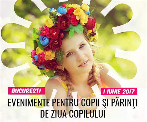 Ziua copilului (numită și ziua internațională a copilului) este în multe țări o sărbătoare pentru copii care se sărbătorește la date diferite. 1 Iunie cu Super Surprize la Bucureşti! Evenimente de Ziua ...