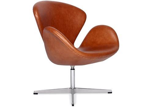 Stuhl Arne Jacobsen by Swan Chair By Arne Jacobsen Leather Platinum Replica