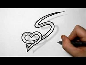 Letter S and Heart Combined - Tattoo design ideas for ...