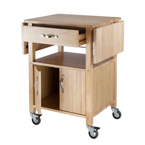 wood kitchen island cart amazon com winsome wood drop leaf kitchen cart bar