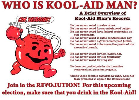 Elect Kool Aid Man