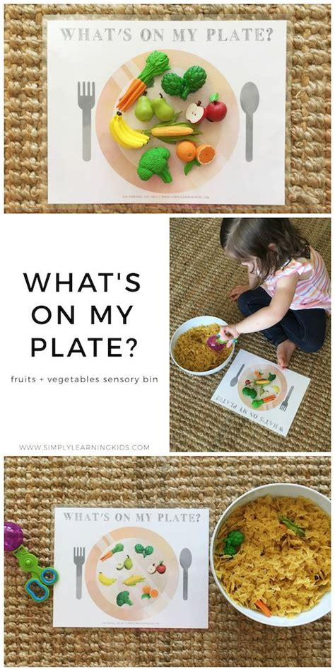 fruits amp vegetables sensory bin learning activities and 954 | 1026f392a112c61fa775fa2c72f163a2