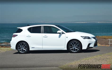 lexus ct   sport review video performancedrive