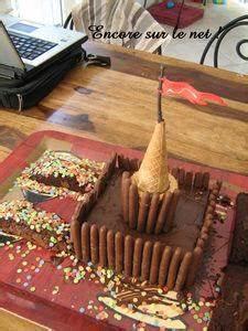 Gateau En Forme De Maison : g teau ch teau fort chocolat et finger voir ~ Nature-et-papiers.com Idées de Décoration