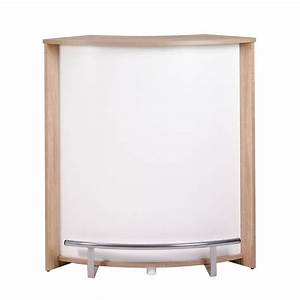 Meuble Bar Pas Cher : meuble comptoir de bar ch ne 96 cm beaux meubles pas chers ~ Teatrodelosmanantiales.com Idées de Décoration