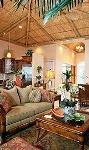 tropical home decor ideas with vintage design | Tropical ...