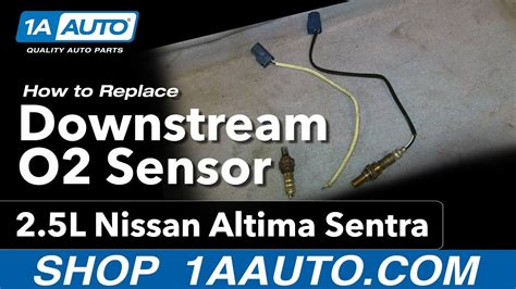 install replace downstream oxygen  sensor