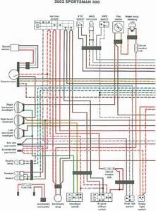 2000 Magnum 500  Wire Diagram Button