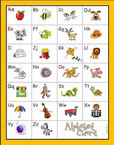alphabet chart a z rfk3a student new students and With alphabet letter and sounds