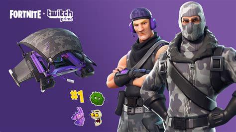 claim   fortnite twitch amazon prime skin