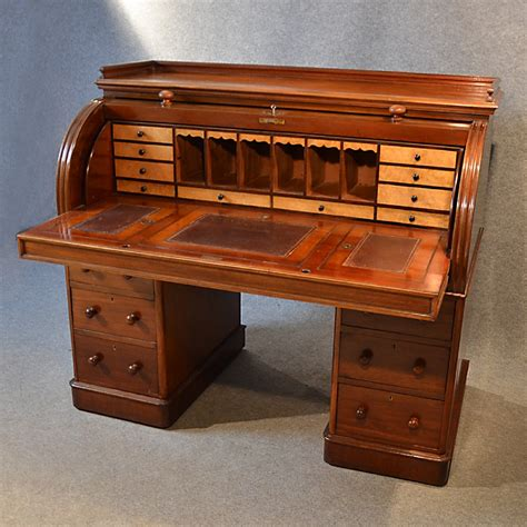 bureau large antique writing bureau large