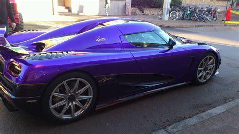 koenigsegg purple flashy colours for the new koenigsegg agera r zijin