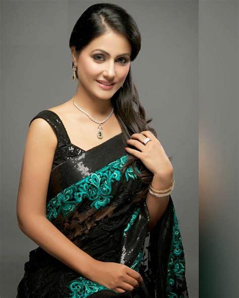 Indian Serial Actress Hina Khan Twitter Photo Bollyimage