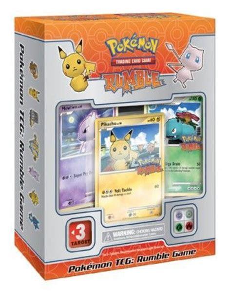 pokemon tcg rumble game pokemon pokemon sealed product