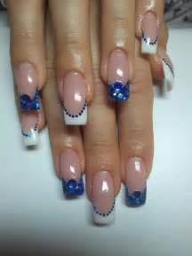 Nail designs unique art i need these blue nails now