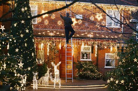 christmas tree lighting installed profile of windcrest tx san antonio suburb