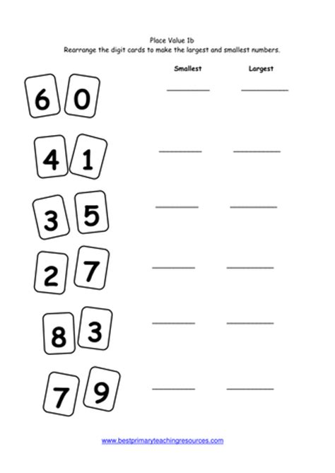 maths worksheets year 1 by bestprimaryteachingresources