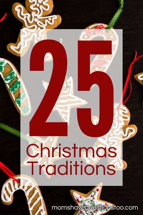 what is christmas called 25 traditions questions
