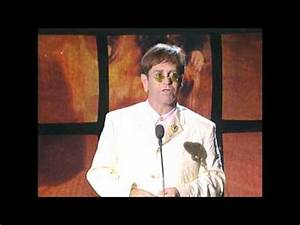 Elton John Accepts Hall of Fame Award - YouTube
