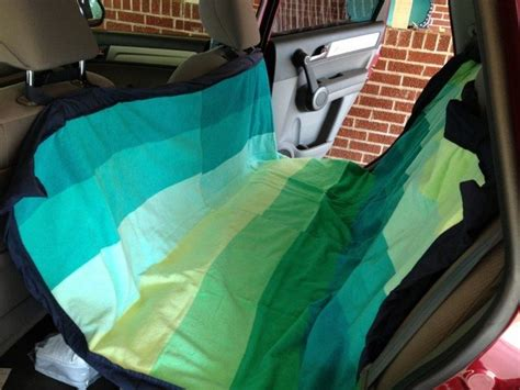 Car Hammock Diy by How To Make A Hammock For Your Car Craft Projects