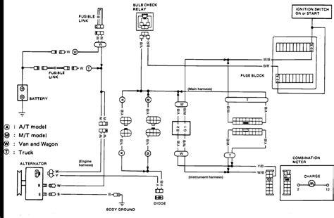 1988 Nissan 300zx Fuse Diagram by 1986 Nissan Wiring Diagram Wiring Diagram