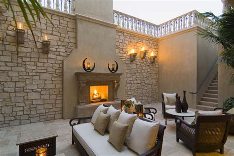 the outdoor fireplace trend heats up realm of design inc
