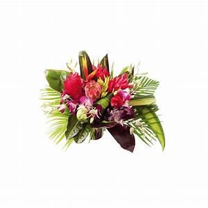 Beau Bouquet De Fleur : bouquet rond antilles fleurs antillaises fleurs exotiques ~ Dallasstarsshop.com Idées de Décoration