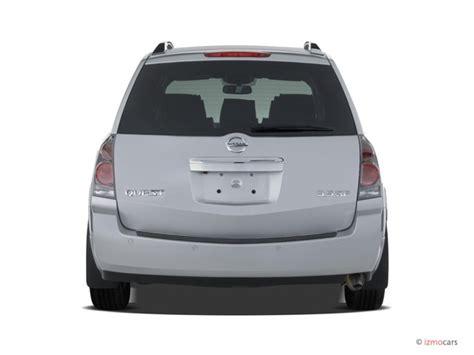 nissan quest rear image 2007 nissan quest 4 door se rear exterior view