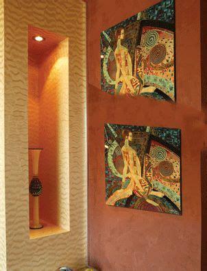venetian plaster wall terracotta venetian plaster