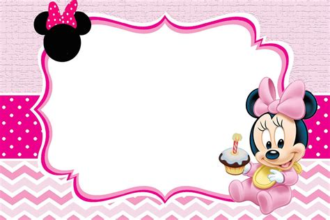 Minnie Mouse Template Invitation by Baby Minnie Mouse Invitation Template Invitations