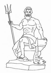 Greek Gods Coloring Pages - Coloring Home