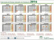 Aprobado el calendario de fiestas laborales en Andalucía