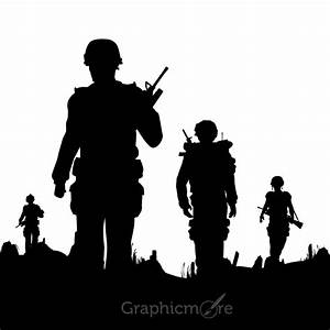 Soldier Silhouette Related Keywords - Soldier Silhouette ...