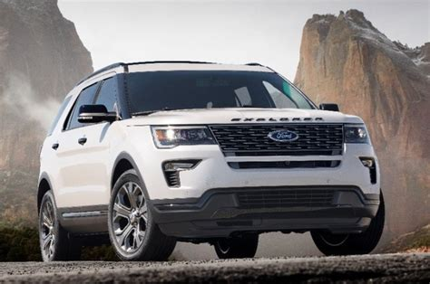 2018 Ford Explorer  Overview Cargurus