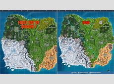 Snow is expanding over Fortnite's Season 7 map Dot Esports