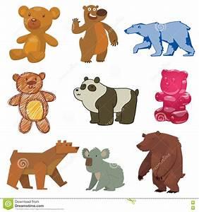 Cute Bear Vector Illustration. Stock Vector - Image: 79680092