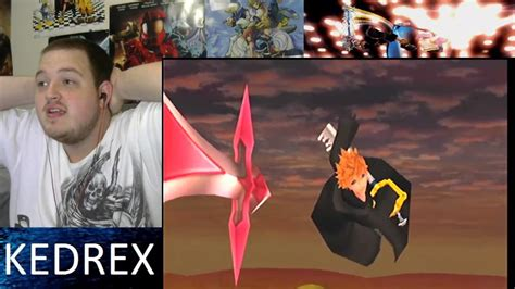 Roxas Vs Xion Full Cinematic Fight Reaction Youtube