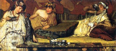 Banchetto Romano Banchetto E Simposio Nell Antica Grecia Lacooltura