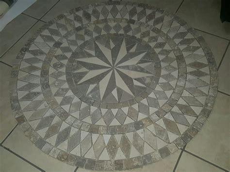 tile medallions for kitchen backsplash travertine medallion tile tile design ideas