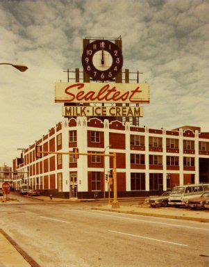 the sealtest dairy building 1978 signage