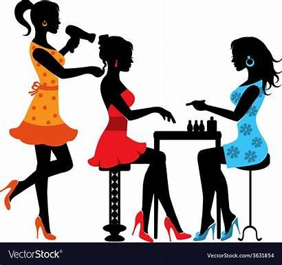 Salon Beauty Vector Woman Royalty Vectors